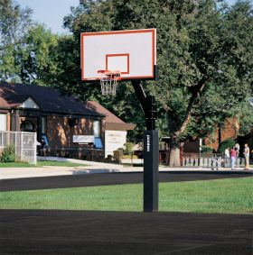HEAVY-DUTY BASKETBALL SYSTEM