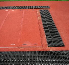 GRATE & MAT SAND CATCHER COVER SYSTEM
