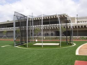 NCAA DOUBLE RING HAMMER CAGE