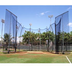 NCAA TALL DOUBLE RING HAMMER CAGE