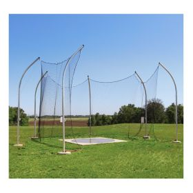 HIGH SCHOOL ALUMINUM DISCUS CAGES