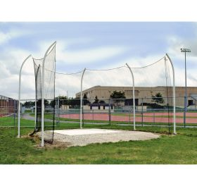 HIGH SCHOOL STEEL DISCUS CAGE