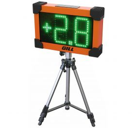 Shown with 728 Lap Counter Display Stand, sold separately