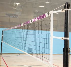 VOLLEYBALL NET SLEEVE WITH CUSTOM GRAPHICS