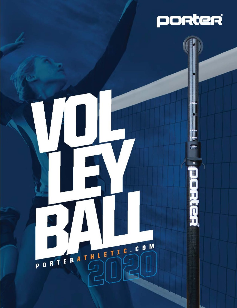 Porter Athletic 2020 Volleyball Catalog